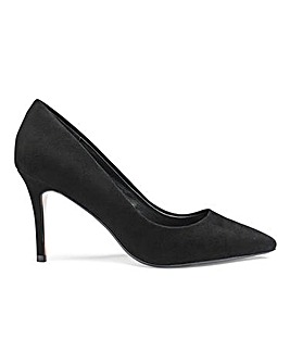 Dune Wide Fit Aurrora Court Shoe Standard Fit