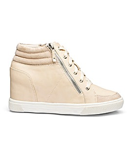 Leila Wedge Trainer Wide Fit