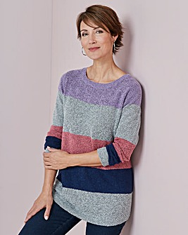 Julipa Stripe Boucle Jumper