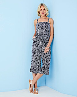 Jersey Jumpsuit WIth Detachable Straps