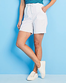 Julipa Pull On Cotton Shorts