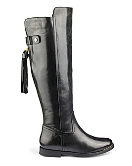 Katie Leather Boot Standard E Fit