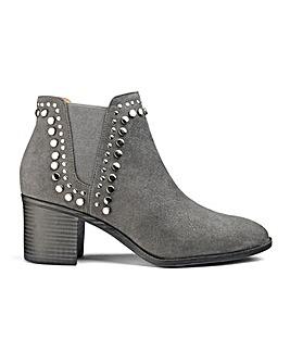 Edita Stud Detail Boots EEE