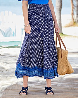 Julipa Crinkle Maxi Skirt