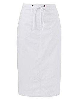 Julipa Pull On Cotton Skirt