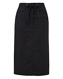 Julipa Pull On Cotton Skirt