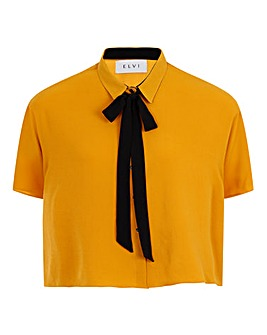Elvi Boxy Shirt with Bow