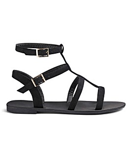 Sofia Gladiator Sandal Wide E Fit