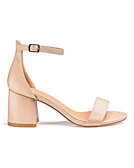 Cammy Block Heels Wide E Fit