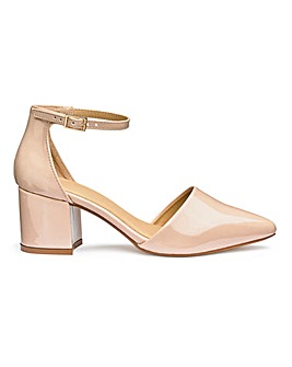 Clio Pointed Block Heels Extra Wide EEE Fit