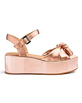 Daphne Flatform Sandals Wide Fit