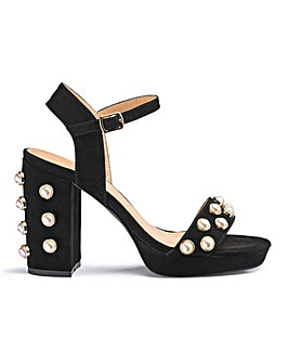 Ethne Pearl Platforms Extra Wide Fit