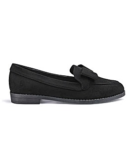 Juno Bow Loafers Extra Wide Fit
