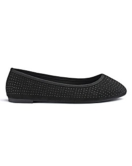 Sabrina Jewel Ballerinas Wide Fit