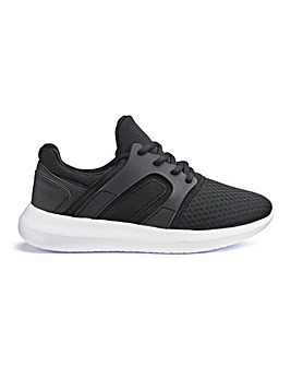 Shann Lace Up Trainers Extra Wide Fit