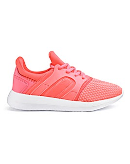 Shann Lace Up Trainers Wide Fit