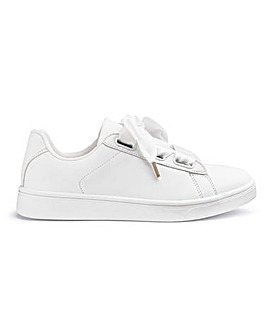 Lou Ribbon Trainers Extra Wide Fit