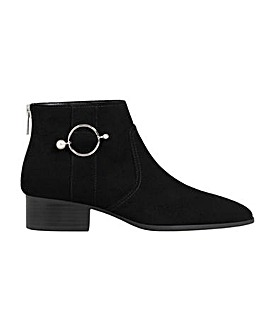 Violeta by Mango Piercing Ankle Boot