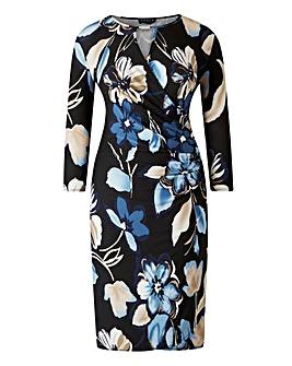 Grace Floral Print Wrap Dress