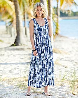 c12852835c Tie Dye Jersey Maxi Dress
