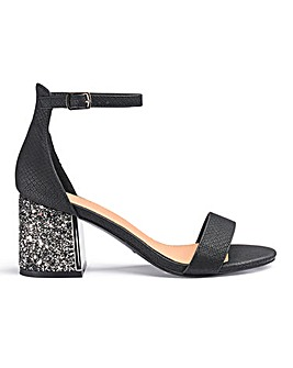 Anji Block Heels Wide Fit