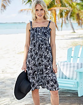 Crinkles Sundress With Detachable Straps