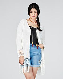 Loverbird Crochet Knit Cardigan