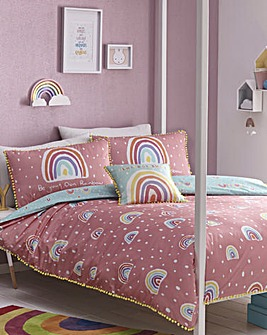 Appletree Kids Rainbow Reversible Duvet Set