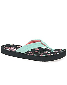 Reef Little Ahi Girls Flip Flops