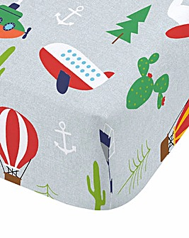 Animal Adventures Fitted Sheet