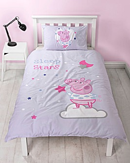 Peppa Pig Sleepy Stars Duvet Set