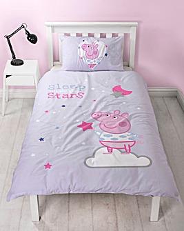 Peppa Pig Sleepy Stars Duvet Set
