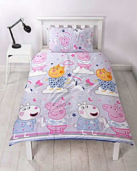 Peppa Pig Sleepy Duvet Set