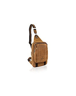 "Woodland Leather Cross Body Bag 10"" Bag"