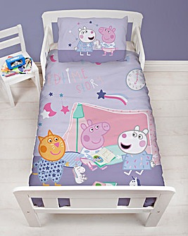 Peppa Pig Sleepy Junior Duvet Set