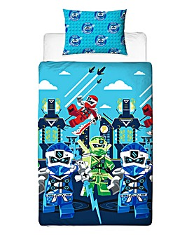 Lego Ninjago Lightening Reversible Duvet Set