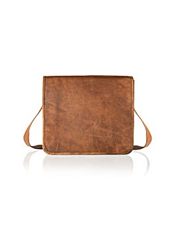 "Woodland Leather 11"" Small Mssng Bag"