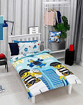 Lego City On The Run Duvet Set