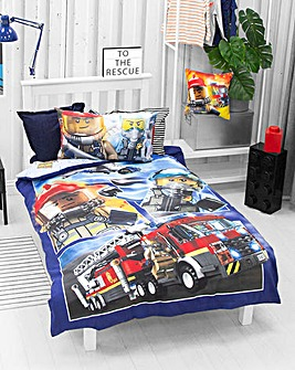 Lego City On The Run Reversible Duvet Set