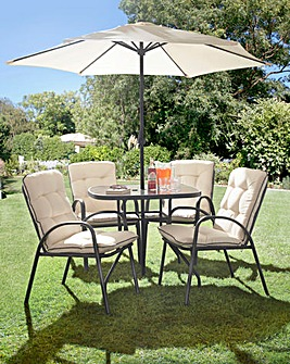Roma Padded 6 Piece Dining Set