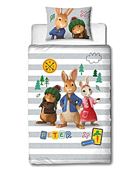 Peter Rabbit Forest Reversible Duvet Set