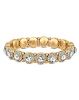 Jon Richard Crystal Halo Bracelet