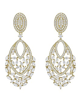 Jon Richard Statement Earring