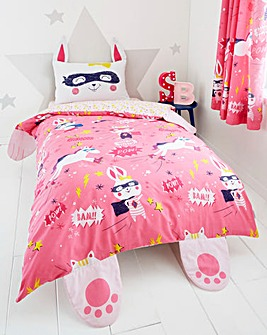 Super Bunny Reversible Duvet Set