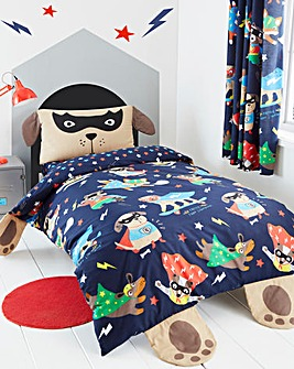 Super Dog Duvet Set