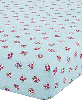 Catherine Lansfield Fairies Fitted Sheet
