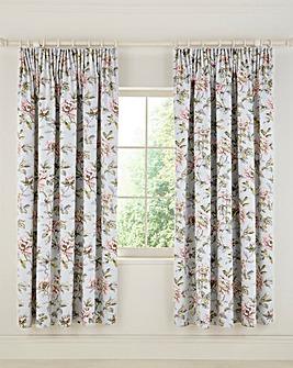 V&A Peony Blossom Lined Curtains