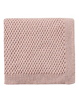 V&A Peony Blossom Knitted Throw