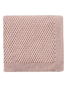 V&A Peony Blossom Knitted Throw