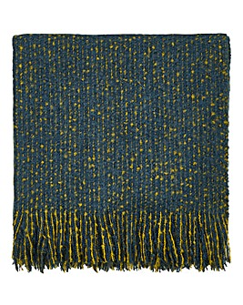 Clarissa Hulse Goosegrass Knitted Throw